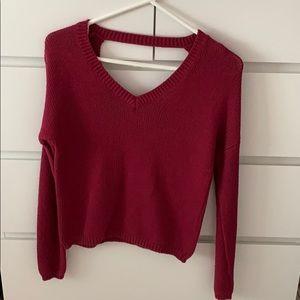 Aeropostale Sweater Backless Size XS